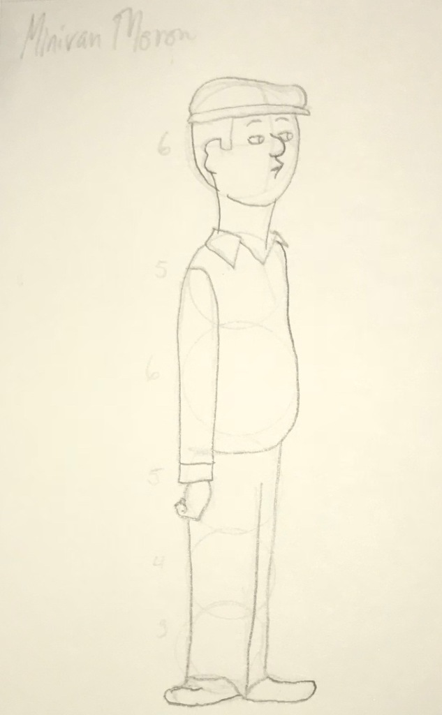 Minivan Moron (Sketch)